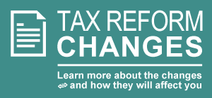 Find out what #taxreform changes could affect you next tax season