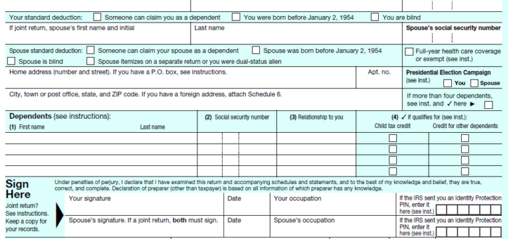 5 things you should know about the 2018 Form 1040